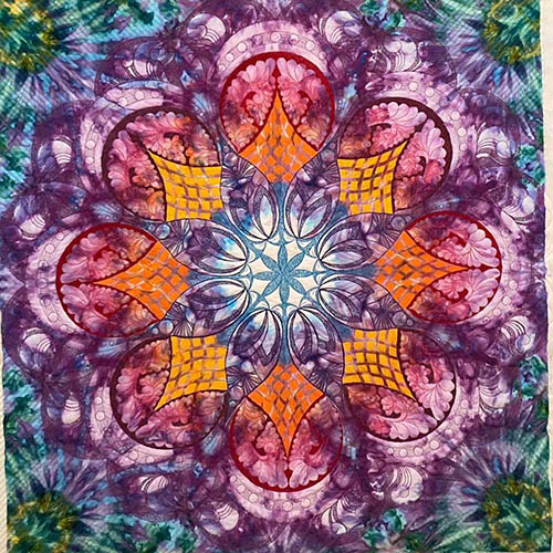 Mary Beth Wholecloth by Lady Jane Quilting | Quiltable
