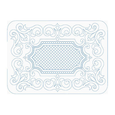 Ornamental Frame by Lady Jane Quilting | Quiltable