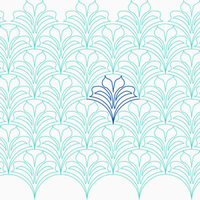 Leafy Clam by Lady Jane Quilting | Quiltable