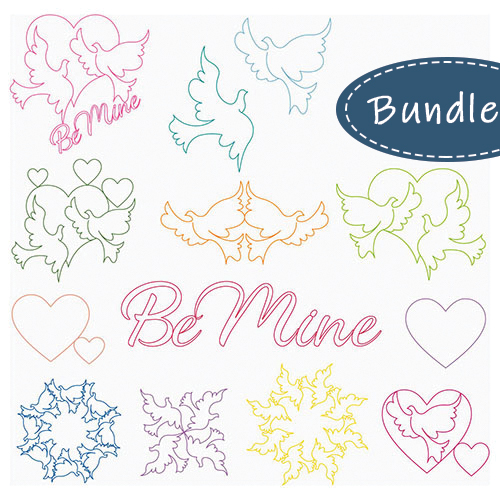 Be Mine 13-Piece Set by Tracey Pereira | Quiltable
