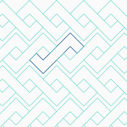 Chevron Cable | Tracey Pereira | Quiltable