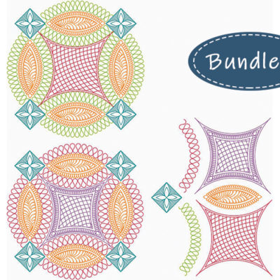 Ring Revival 6-Piece Set by Kelly Ashton | Quiltable