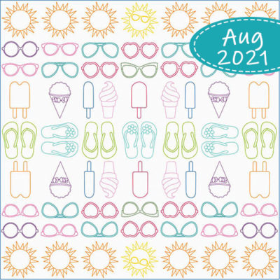 August 2021 Club Sunshiney Days | Quiltable